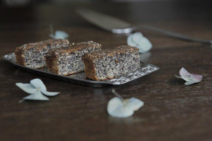 Makovo-jablkový koláč bez lepku