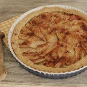jablkový bezlepkový koláč