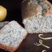 Makovo-citrónový bezlepkový koláč
