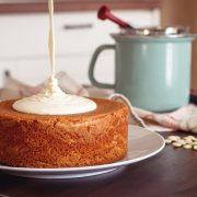 Citrónový koláč bez gluténu