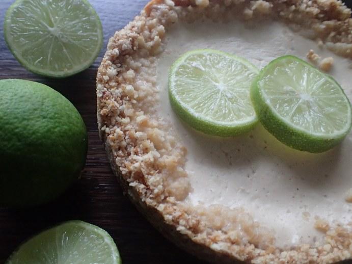 Bezlepkový cheescake Key Lime Pie