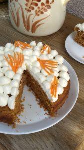 Zdravý mrkvový koláč bez lepku