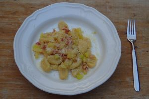Bezlepkové zemiakové halušky