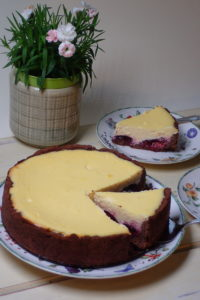 Bezlepkový tvarohový koláč