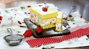 Bezelpkový piškotový koláč
