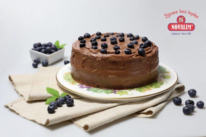 Čokoládová torta bez lepku