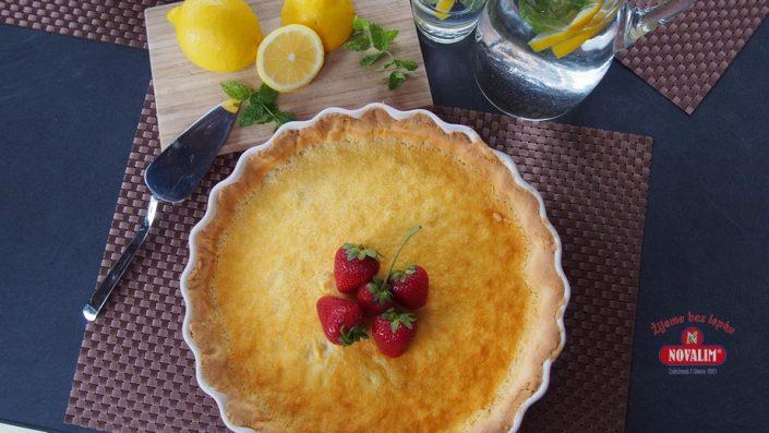 citrónový bezlepkový koláč