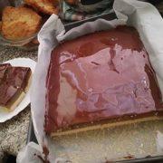 Čokoládovo jablkový koláč bez lepku