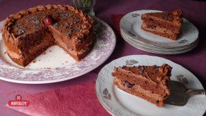 Rychlý bezlepkový dort - Švarcvaldský