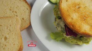 Fit sendviče bez lepku s avokádom