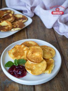tvarohová omeleta bez lepku