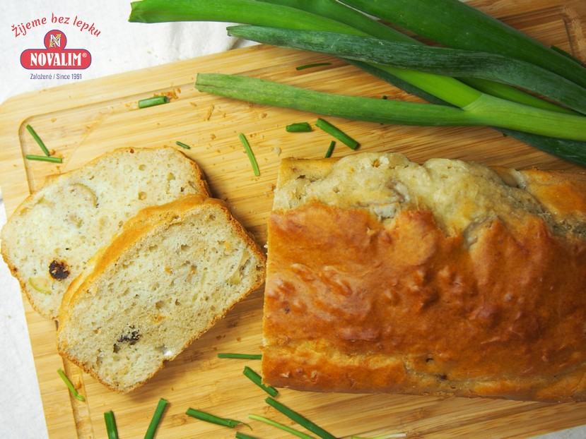 Olivový chlieb bez lepku
