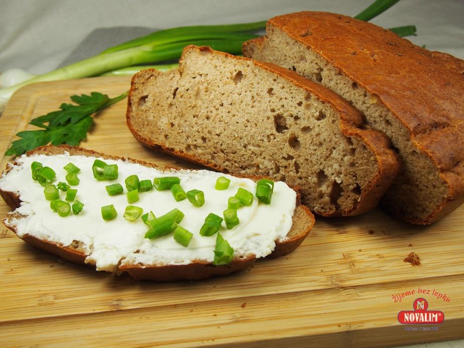 pohánkový chlieb