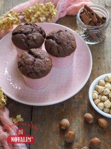 perníkové bezlepkové muffiny s čokoládou